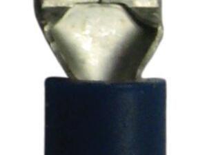 50x blauw half geïsoleerd man 6.3mm
