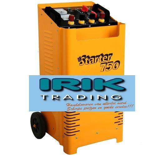 Accu lader / starter 750 A 12 / 24 volt