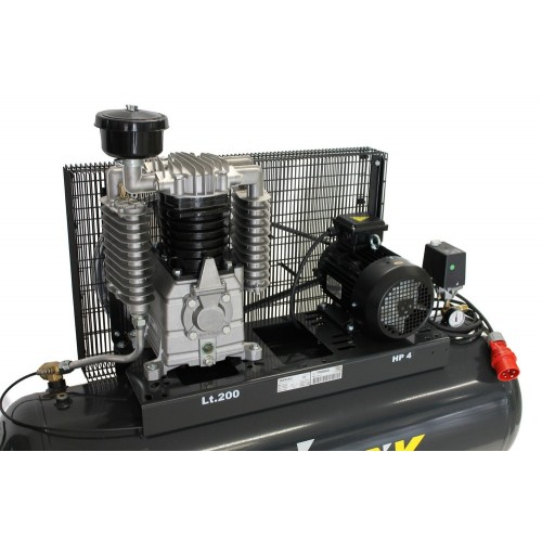 Compressor 3Kw 15Bar 200 liter