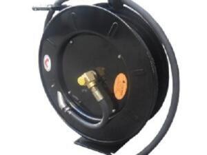 Slang haspel automatisch lucht / olie / water / vet 138Bar 15 meter