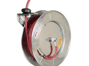 Slang haspel automatisch water/olie RVS