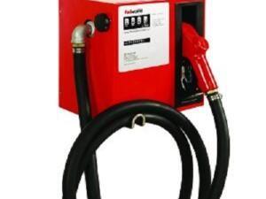 Dieselpompkit + mechanische meter, 230 volt, 72 liter / min