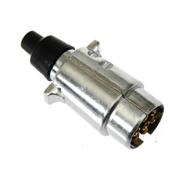 Stekker 7 polig - 24 volt metaal