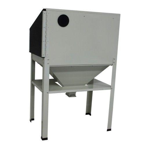 Zandstraalkast 220 liter met 1 zijdeur