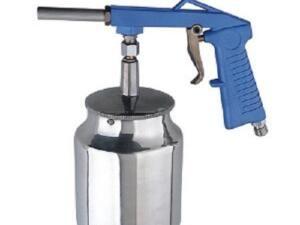 Straalgritpistool onderpot