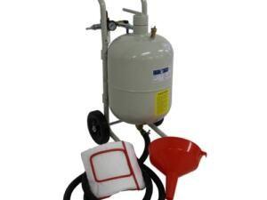 Zandstraalketel 20 liter