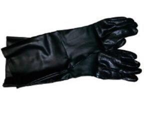 Zandstraal handschoenen 220 / 350 / 420 / 990 cabines