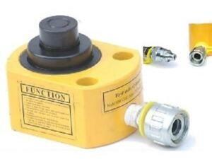 Platte cilinder dubbel 20 Ton slag 26 mm