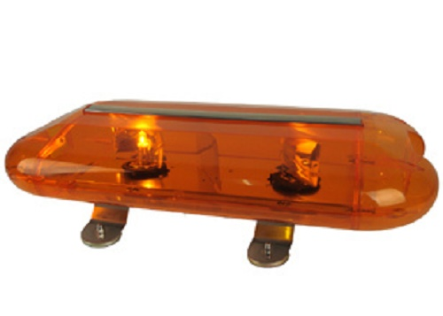 Oranje strobe balk led 12 volt