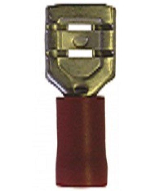 50x rood half geïsoleerd recht vrouwelijk 2.8mm