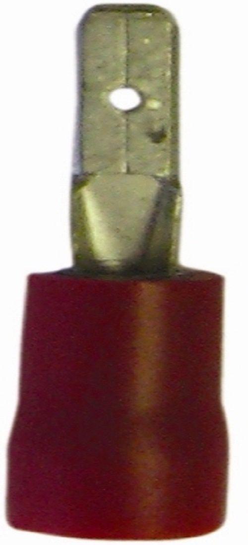 50x rood half geïsoleerd recht mannelijk 2.8 mm
