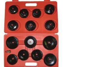 Olie filterkappen set 14 delig
