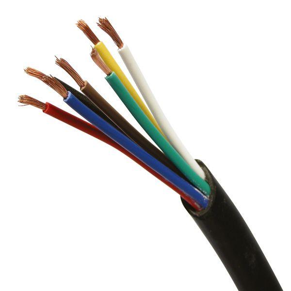 Kabel 7-Aderig 5mtr 1mm²