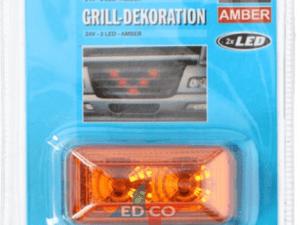 Amber grill decoratie
