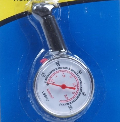 Bandenspanningsmeter rond model